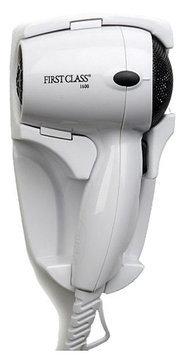 Jerdon JHD41W 1600W First Class Wall Mount Hair Dryer in White