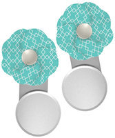 The First Years Quick Cover Creator Nursing Cover Clips - Blue - 1 ct.