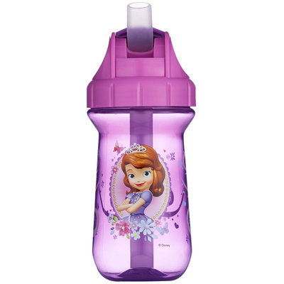 The First Years Disney Junior Sofia the First Flip Top Straw Cup - 10 oz