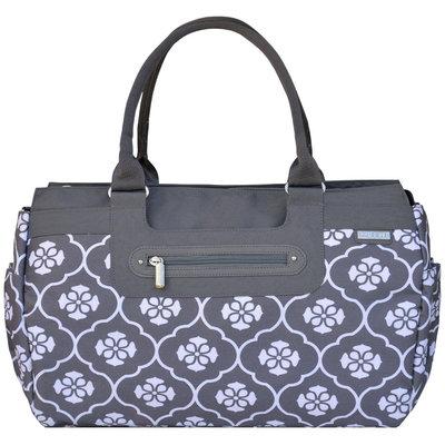 JJ Cole Parker Diaper Bag - Gray Floret - 1 ct.