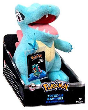 Pokemon Trainer's Choice Small Plusch Totodile
