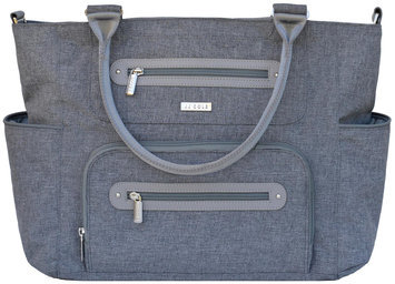 Jj Cole Collections JJ Cole Caprice Diaper Bag - Gray Heather