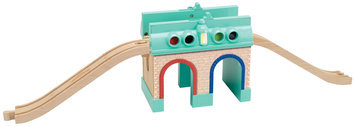 Learning Curve International, Inc. Chuggington Wooden Railway Tunnel Depot by Learning Curve