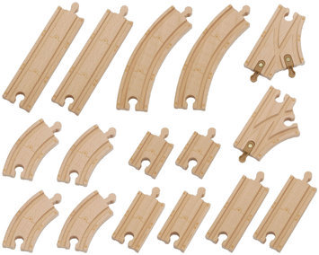 Learning Curve International, Inc. Chuggington Wooden Railway 16 pc Track Pack by Learning Curve