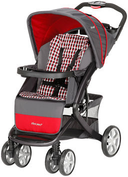 The First Years Burst Stroller - Plaid, Plaid-Gray