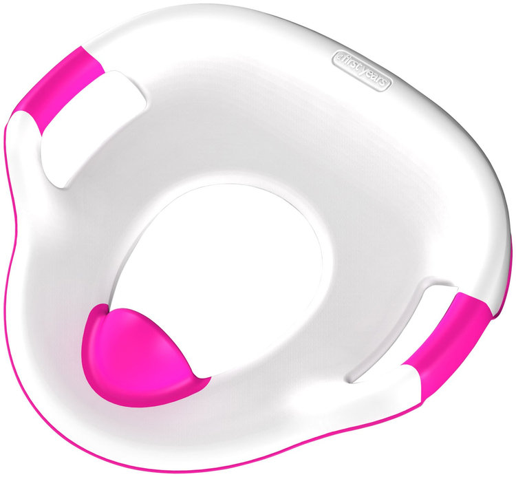 The First Years Soft Grip Trainer Seat 2 pk- Pink