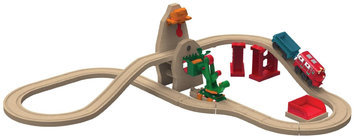 Chuggington Wooden Railway Excavator Set