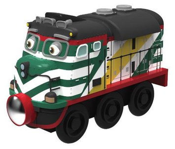 Chuggington Wooden Railway Chuggineer Fletch - 1 ct.