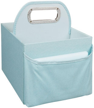 JJ Cole Diaper and Wipes Caddy - Blue Heather - 1 ct.