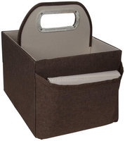 Jj Cole Collections JJ Cole Diaper and Wipes Caddy - Cocoa Heather