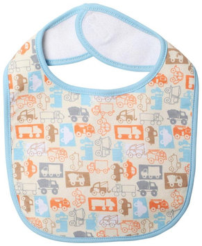Zutano Trucks Bib (Baby) - Cream - 1 ct.