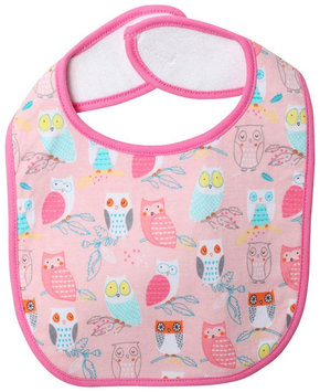Zutano Wide Awake Bib (Baby) - Blush - 1 ct.