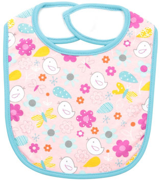 Zutano Friendly Bird Bib (Baby) - Pink - 1 ct.
