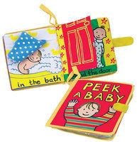 Jellycat Soft Books, Peek A Baby