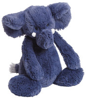 Jellycat Bashful Blue Elephant - Medium - 1 ct.