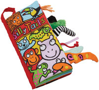 Jellycat Silly Tails Soft Infant Book