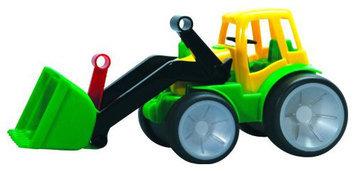 Gowi Toys Austria Farm Tractor with Shovel