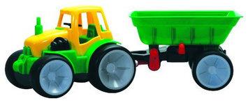 Gowi Toys Austria Farm Tractor with Wagon