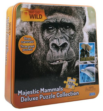 Uncle Milton Majestic Mammals Deluxe Puzzle Collection