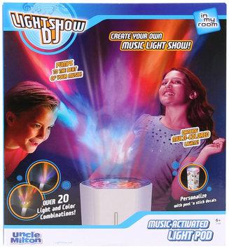 Uncle Milton 'Lightshow DJ' Music Activated Light Pod