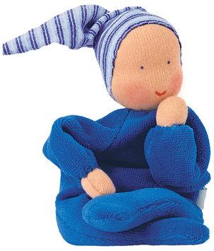 Kathe Kruse Nickibaby Blue Doll - 1 ct.