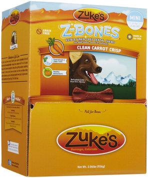 Zukes Zuke's Z-Bones Clean Carrot Crisp Dental Dog Treats