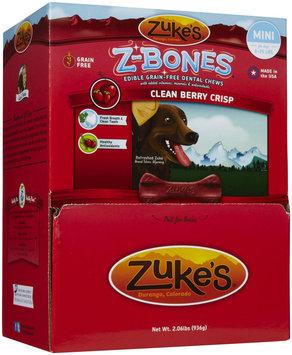 Zukes Zuke's Z-Bones Clean Berry Crisp Dental Dog Treats