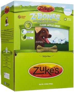 Zukes Zuke's Z-Bones Clean Apple Crisp Dental Dog Treats