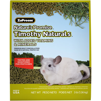 ZuPreem Nature's Promise Chinchilla Pellets