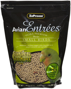 ZuPreem AvianEntrees - Garden Goodness Small Bird - 2lb