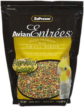 ZuPreem AvianEntrees - Harvest Feast Small Bird - 2lb