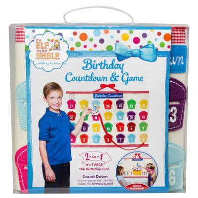The Elf On The Shelf Elf on the Shelf Birthday Countdown Calendar And Game - 1 ct.