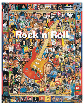 White Mountain Puzzles Rock 'N' Roll (1000 pc)