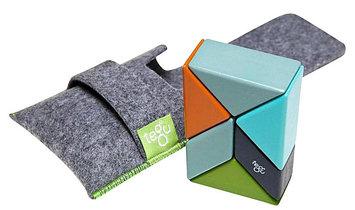 Tegu Pocket Pouch Prism Nelson Magnetic Blocks (6 pc)
