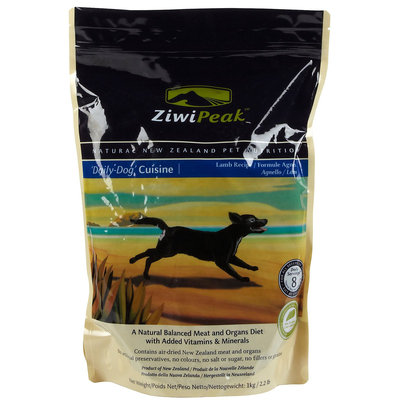 ZiwiPeak Daily Dog Cuisine Lamb Dog Food 1kg