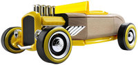 Automoblox Mini Hot Rod HR2 Yellow by Automoblox