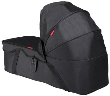 Phil & Teds Dot & Navigator Snug Carrycot-Black