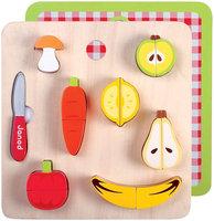Janod Chunky Fruits And Veg Set - 1 ct.