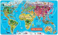 Janod Magnetic World Puzzle English - 1 ct.