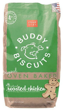 Cloud Star Original Oven Baked Buddy Biscuits - Roasted Chicken Flavor - 4lb