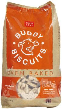 Cloud Star Original Oven Baked Buddy Biscuits - Peanut Butter Flavor - 4lb