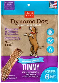 Cloud Star Dynamo Dog Functional Dental Bones Original Bone - Tummy