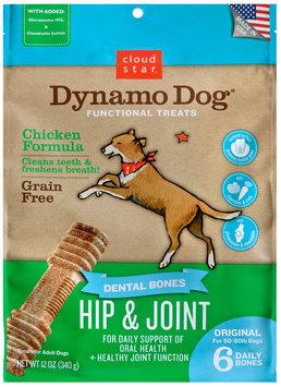 Cloud Star Dynamo Dog Functional Dental Bones Original Bone - Hip & Joint
