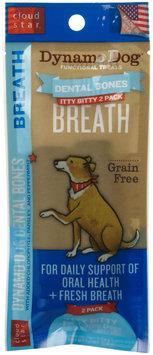 Cloud Star Dynamo Dog Functional Dental Bones - Itty Bitty Bone - Breath