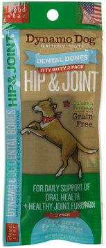 Cloud Star Dynamo Dog Functional Dental Bones - Itty Bitty Bone - Hip & Joint