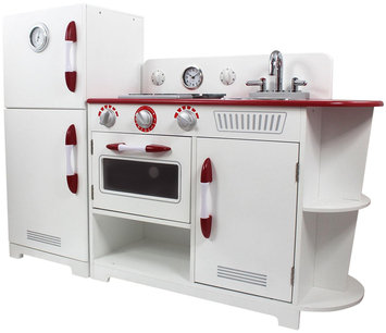 Teamson Kids Play Kitchen, White