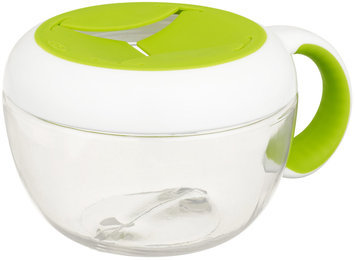 OXO Tot Flippy Snack Cup with Travel Cover (Green)