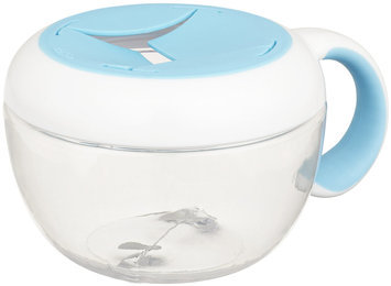 OXO Tot Flippy Snack Cup with Travel Cover (Aqua)