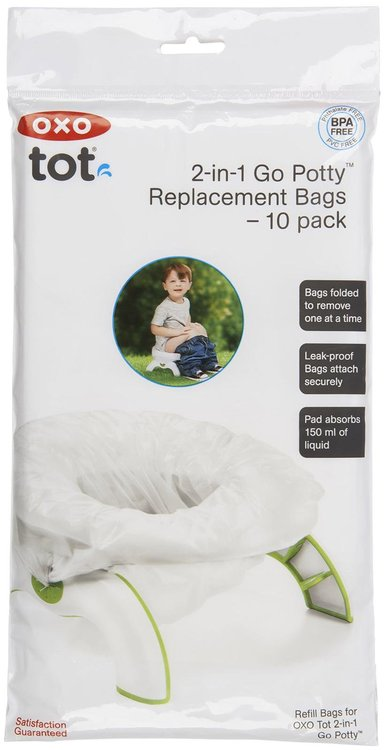 OXO 2-in-1 Go Potty Refill Bags - 10 ct