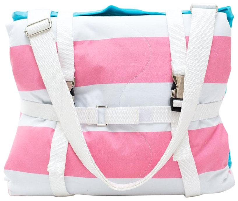 Palm Beach Crew Brilliant Blanket - Cabana Pink Stripes - 1 ct.